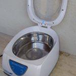 Pulizia bossoli con lavatrice ad ultrasuoni
